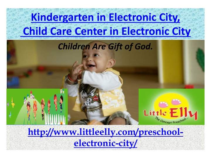 kindergarten in electronic city child care center in electronic city n.