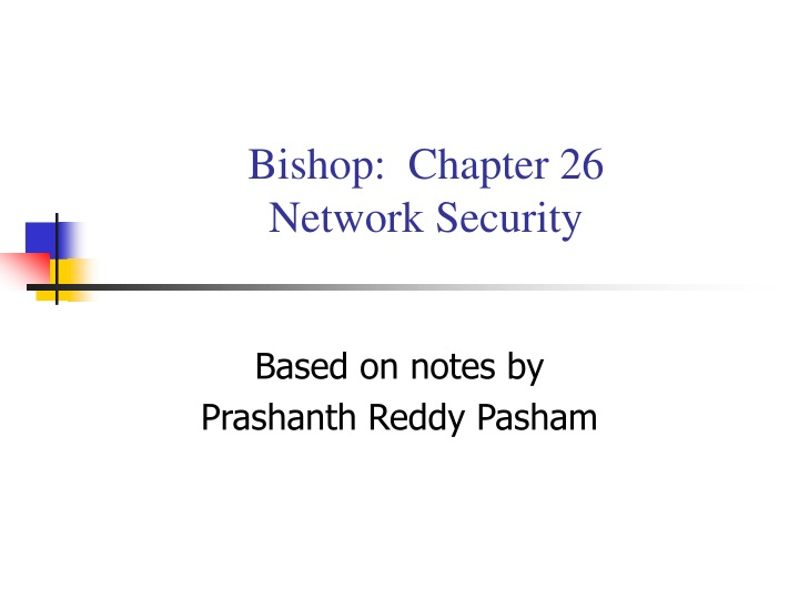bishop chapter 26 network security n.