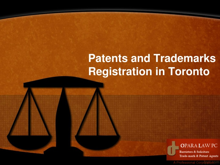 patents and trademarks registration in toronto n.
