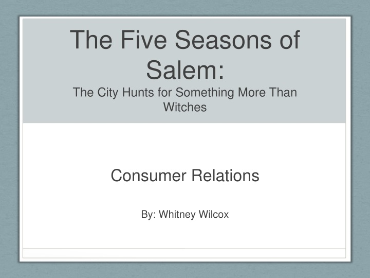 the five seasons of salem the city hunts for something more than witches n.