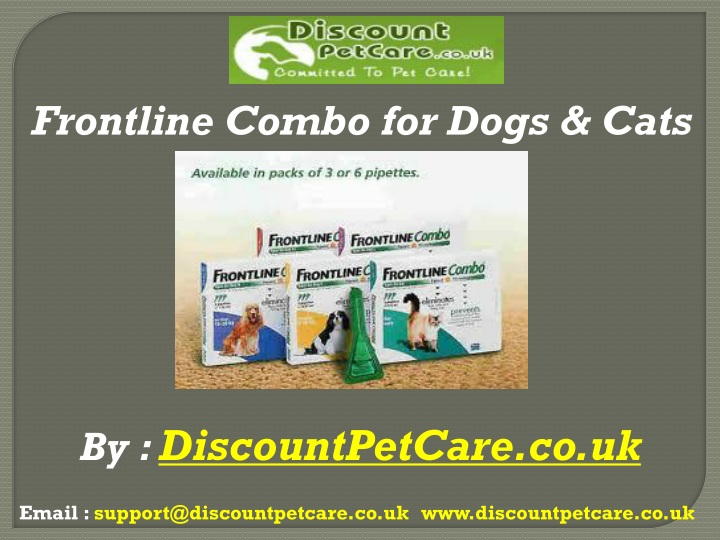 frontline combo for dogs cats n.