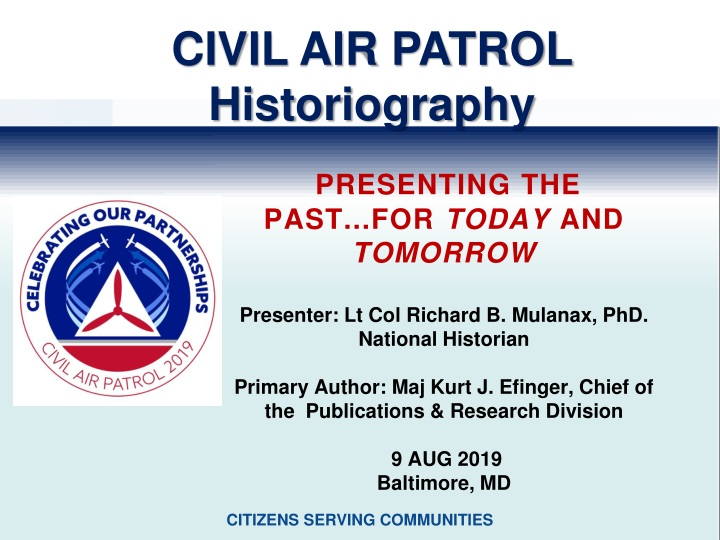 ppt civil air patrol historiography powerpoint. Black Bedroom Furniture Sets. Home Design Ideas
