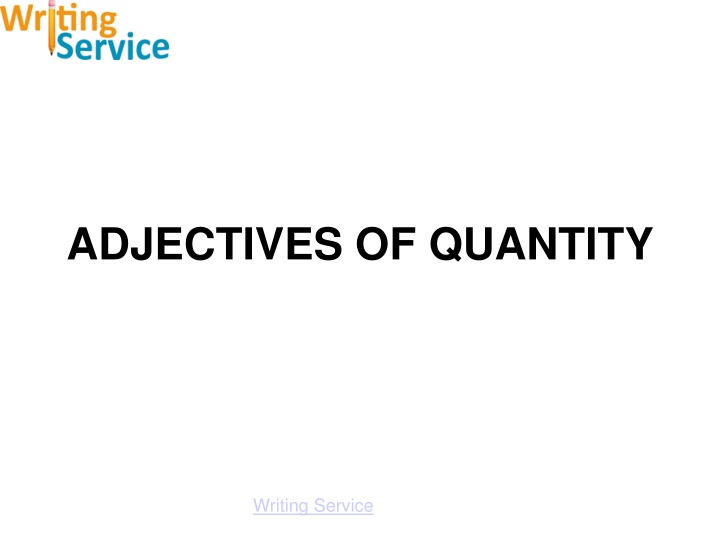 adjectives of quantity n.