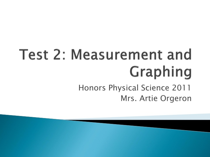 test 2 measurement and graphing n.