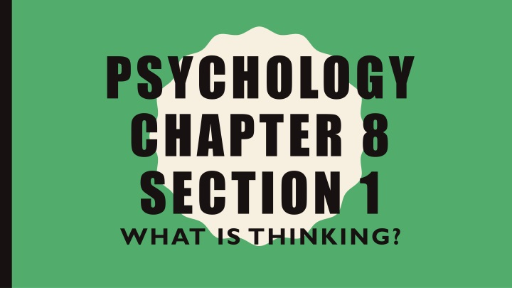psychology chapter 8 section 1 n.