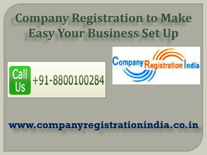 company registration to make easy your business n.