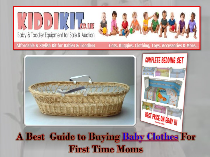 a best guide to buying baby clothes for first n.