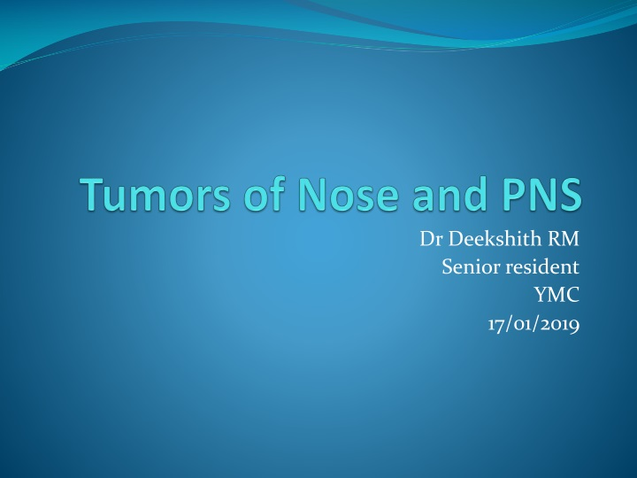 tumors of nose and pns n.