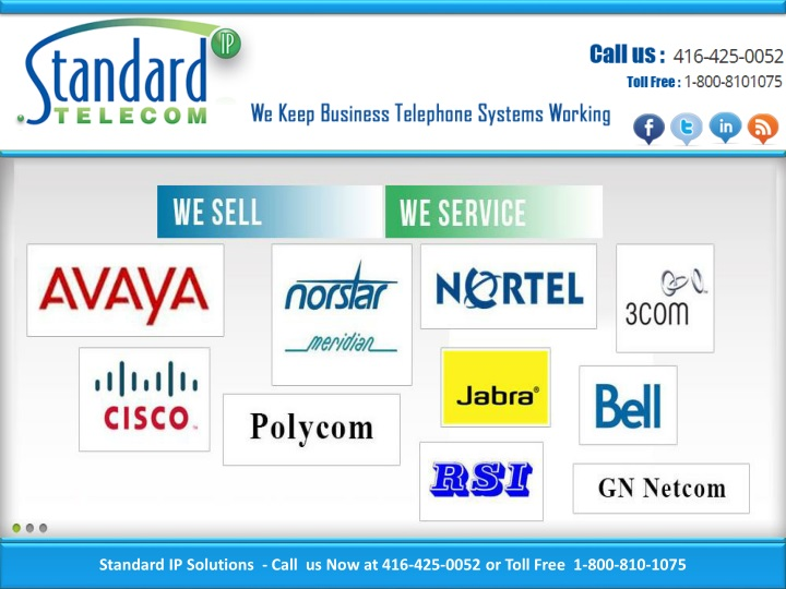 standard ip solutions call us now at 416 425 0052 n.