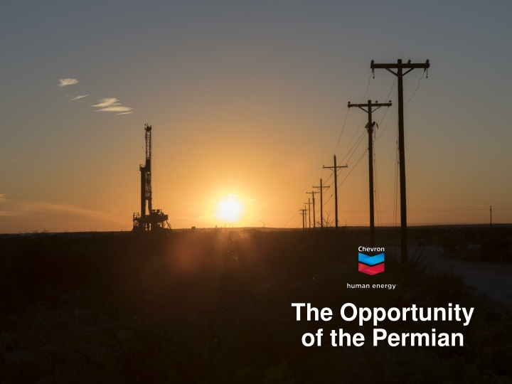 the opportunity of the permian n.