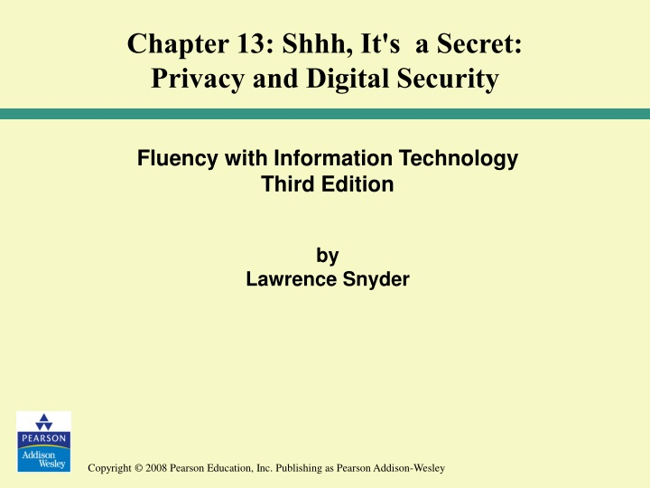 chapter 13 shhh it s a secret privacy and digital n.