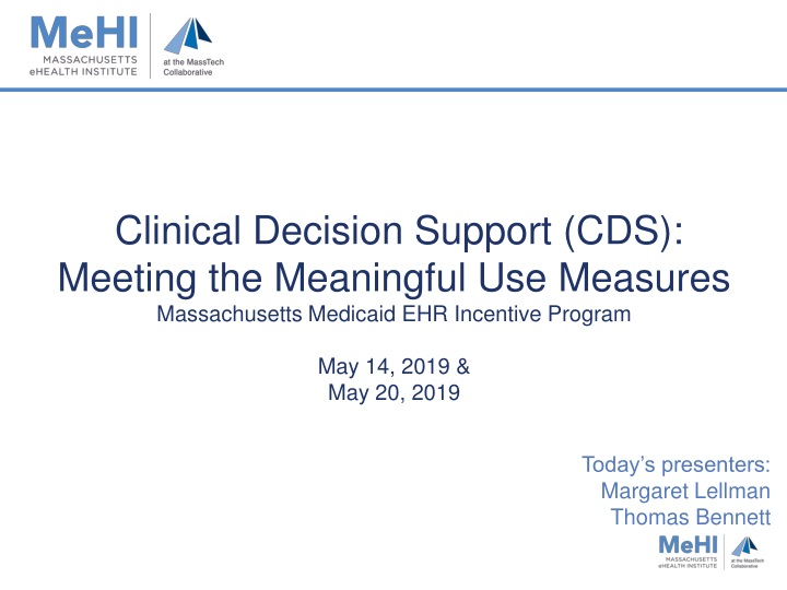 clinical decision support cds meeting n.