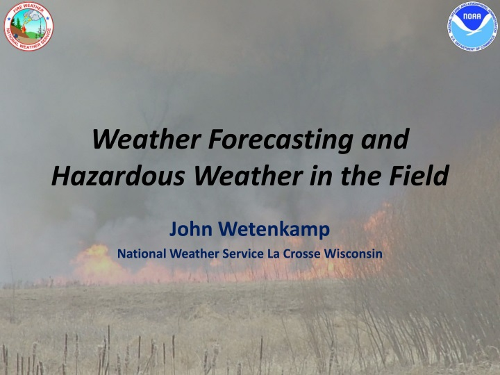 weather forecasting and hazardous weather in the field n.