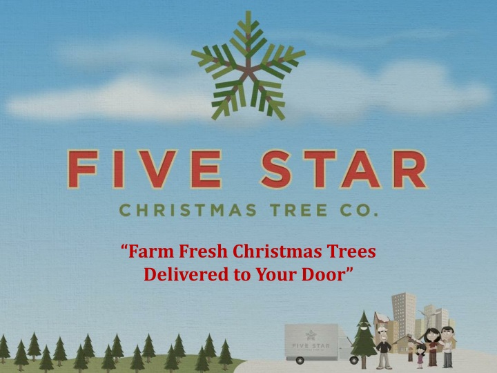 farm fresh christmas trees delivered to your door n.