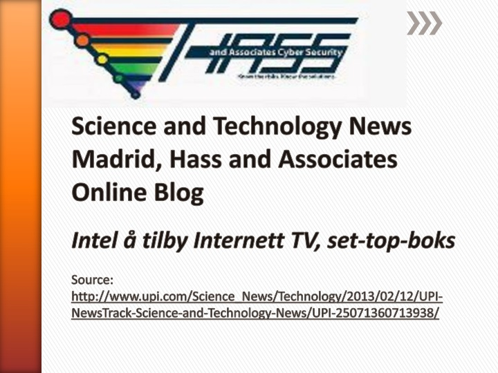 science and technology news madrid hass n.