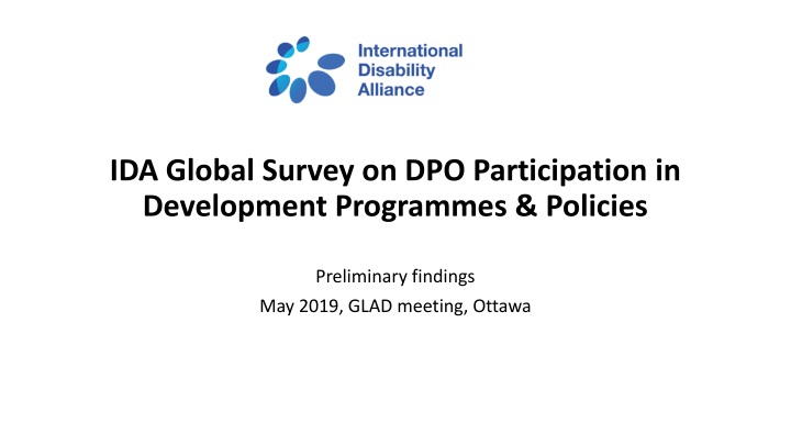 ida global survey on dpo participation in development programmes policies n.