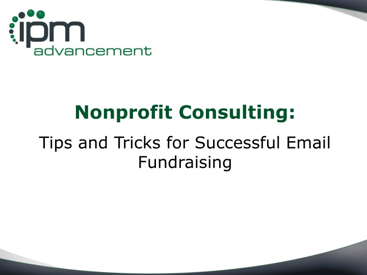 nonprofit consulting tips and tricks n.