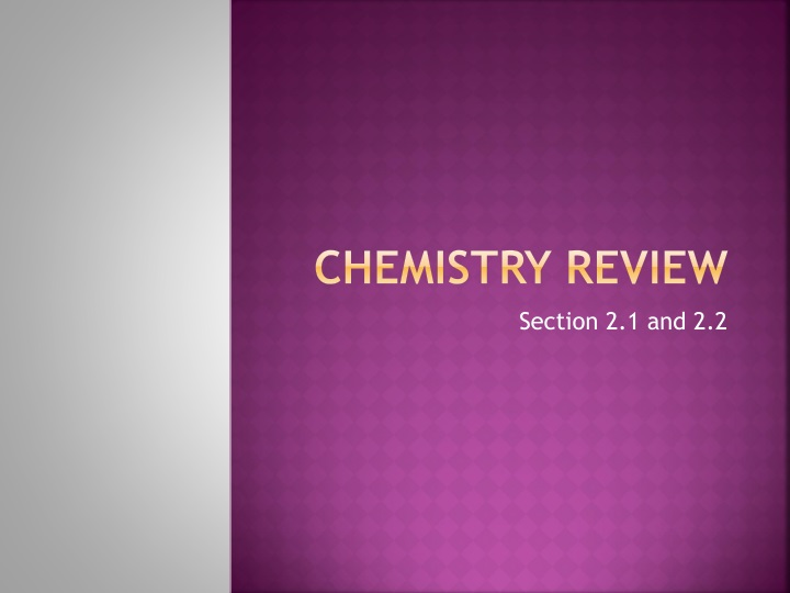 chemistry review n.