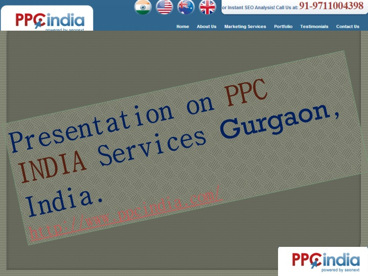 presentation on ppc india services gurgaon india n.