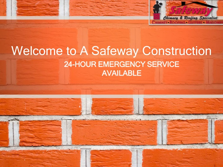 welcome to a safeway construction n.