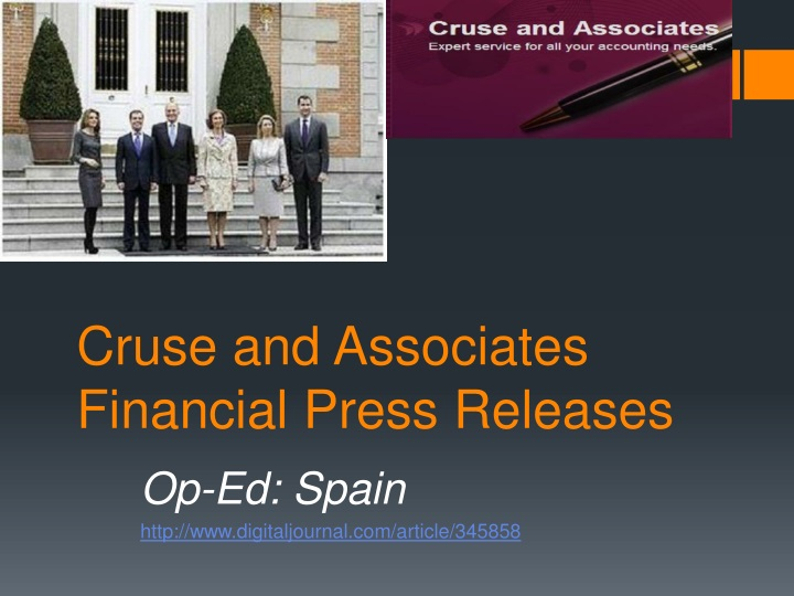 cruse and associates financial press releases n.