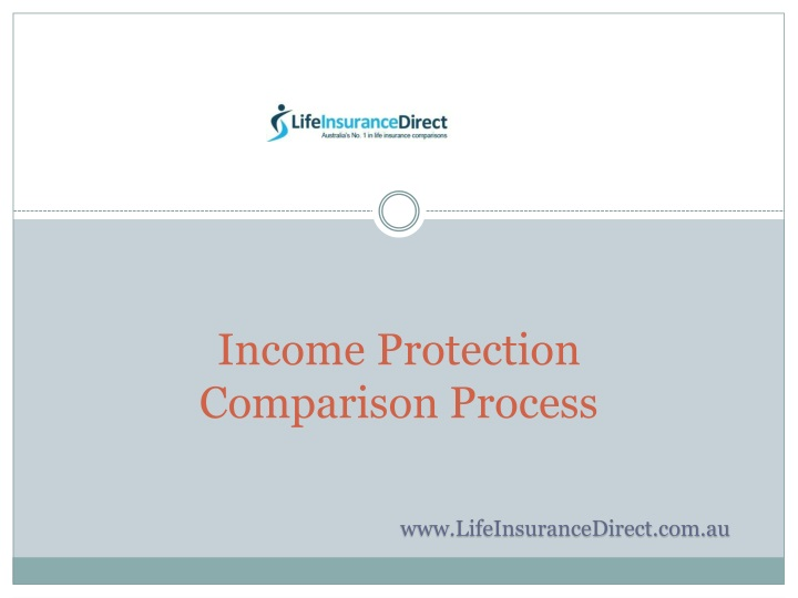 income protection comparison process n.