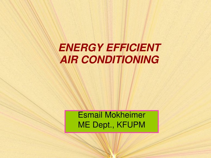 energy efficient air conditioning n.