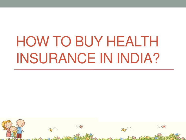 how to buy health insurance in india n.