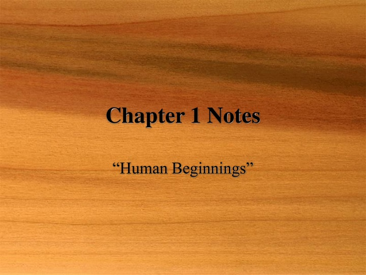 chapter 1 notes n.