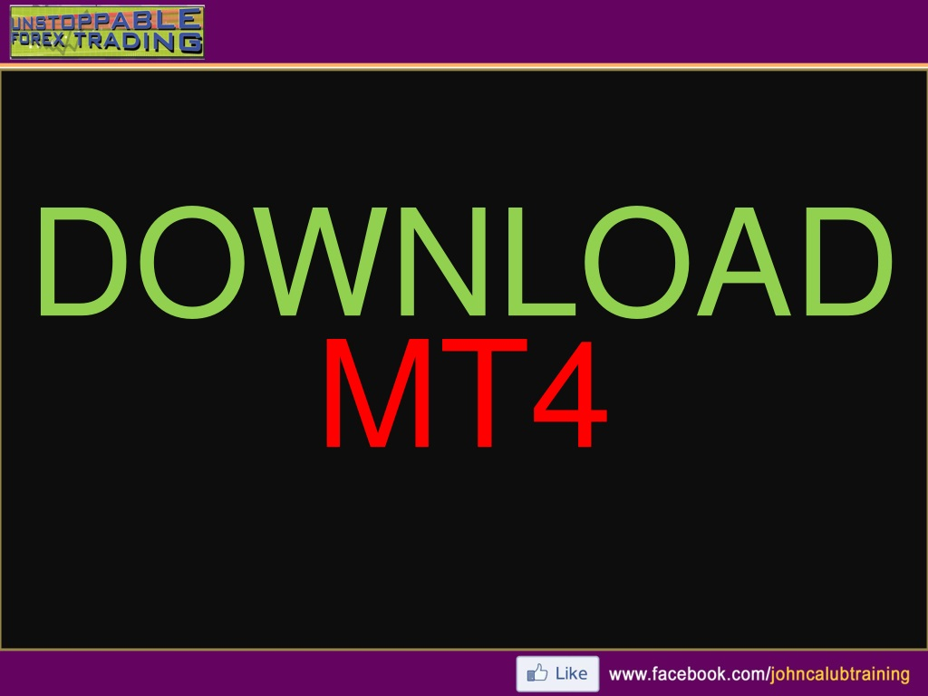 Ppt Metatrader 4 How To Use Powerpoint Presentation Free