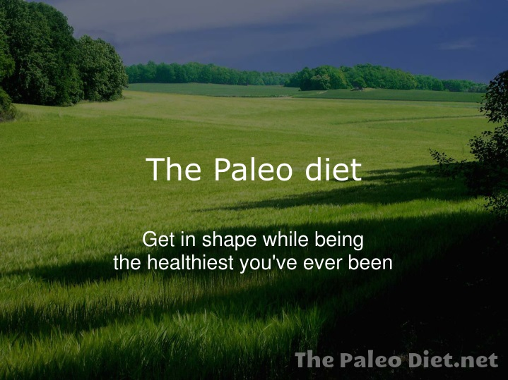 the paleo diet n.