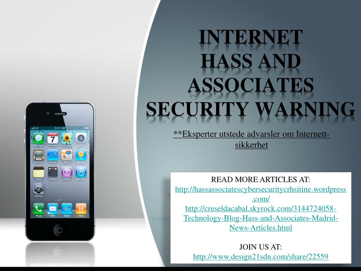 internet hass and associates security warning n.