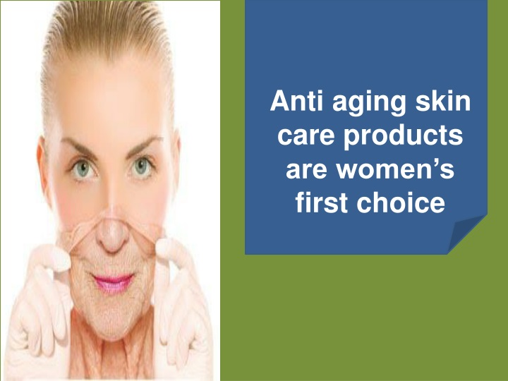 anti aging skin care products are women s first choice n.