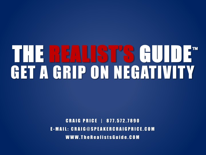 the realist s guide n.