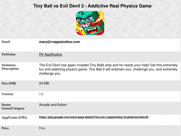 tiny ball vs evil devil 2 addictive real physics n.