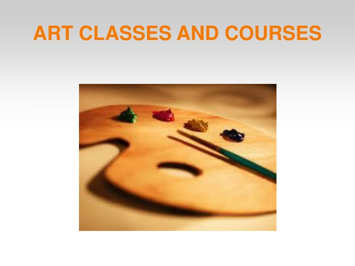 art classes and courses n.