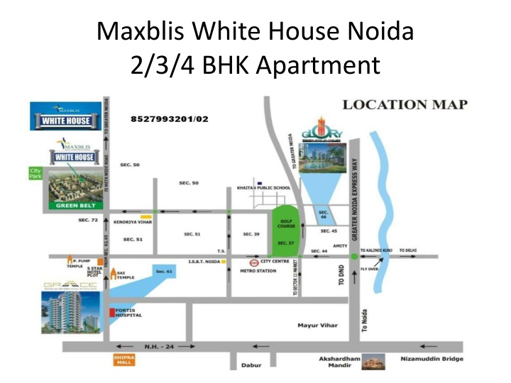 maxblis white house noida 2 3 4 bhk apartment n.