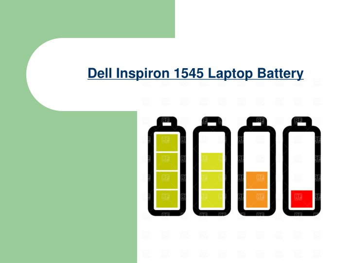dell inspiron 1545 laptop battery n.