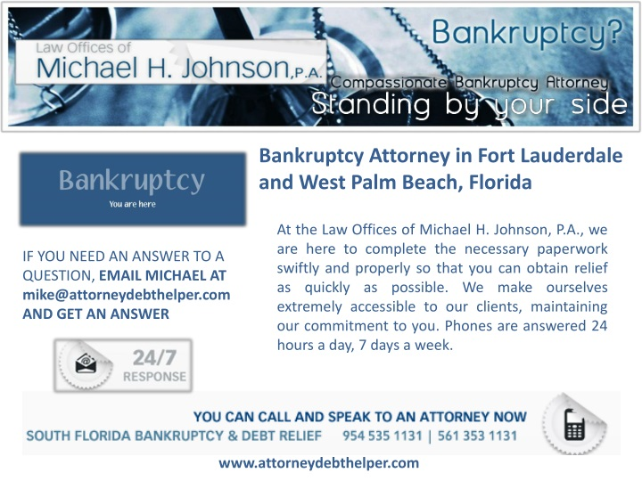 bankruptcy attorney in fort lauderdale and west n.