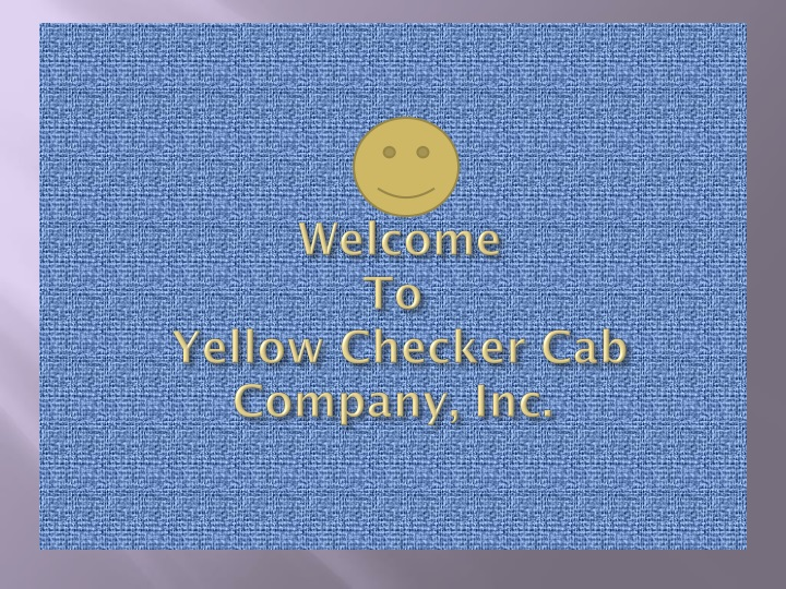 welcome to yellow checker cab company inc n.