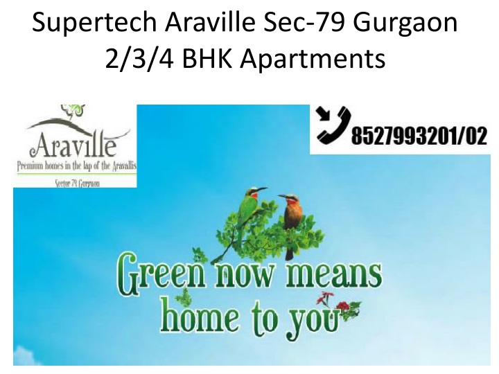 supertech araville sec 79 gurgaon 2 3 4 bhk apartments n.