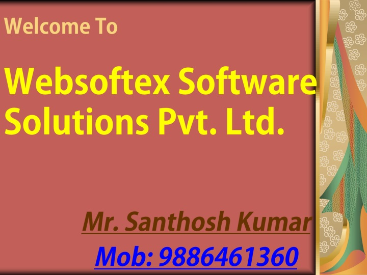welcome to websoftex software solutions pvt ltd n.