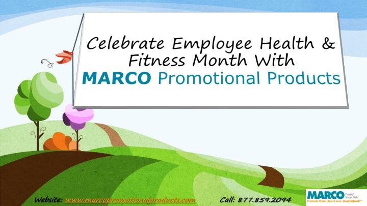 celebrate employee health fitness month with marco promotional products n.