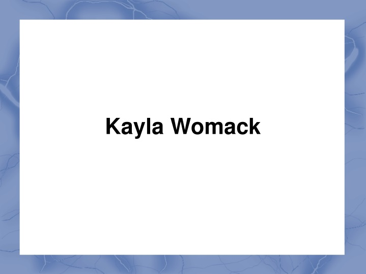 kayla womack n.