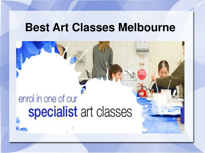 best art classes melbourne n.