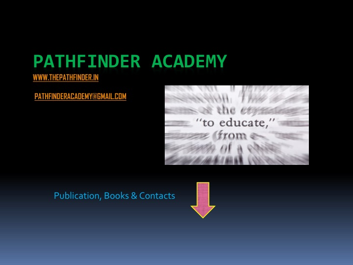 publication books contacts n.