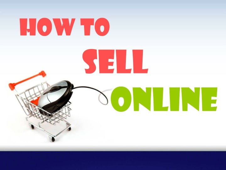 how to sell online n.