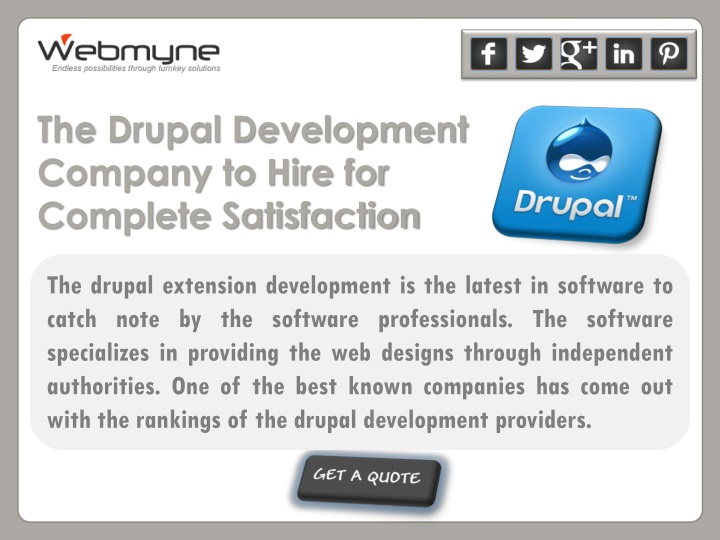 the drupal development company to hire n.