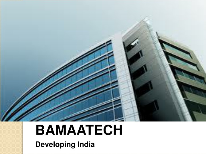 bamaatech developing india n.