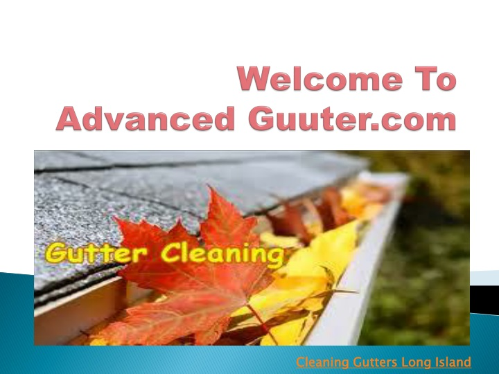 welcome to advanced guuter com n.